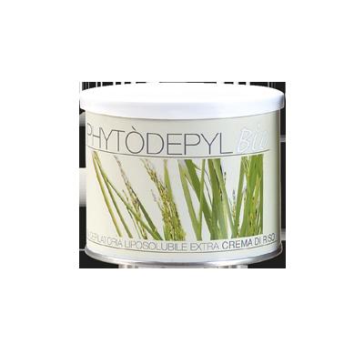 Crema depilatoria liposolubile extra crema di riso