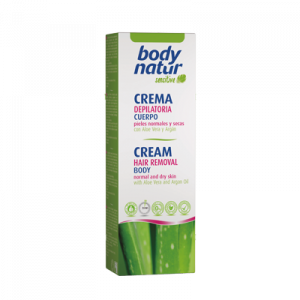 Crema depilatoria corpo all'aloe vera
