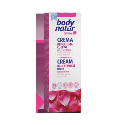 Crema depilatoria corpo alla rosa mosqueta