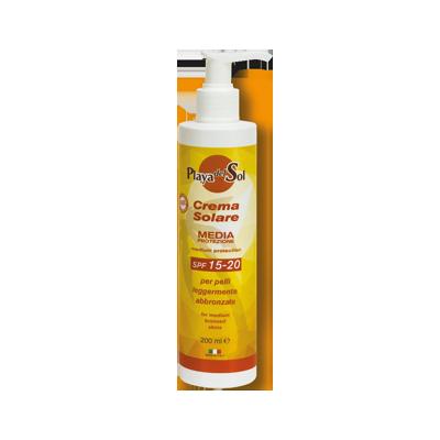 crema solare doposole – media protezione