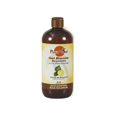 Gel bronze al bergamotto – alta protezione
