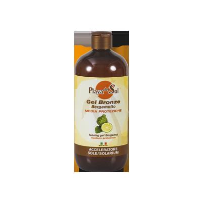 Gel bronze al bergamotto – media protezione