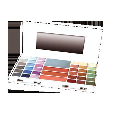 Palette 36 ombretti perlati + 3 Fard
