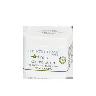 Crema acida purificante riequilibrante