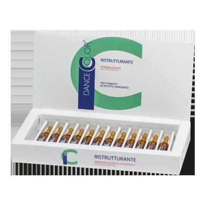fiale struttra olio mineralizzante ristrutturante alla vitamina f 10 fiale