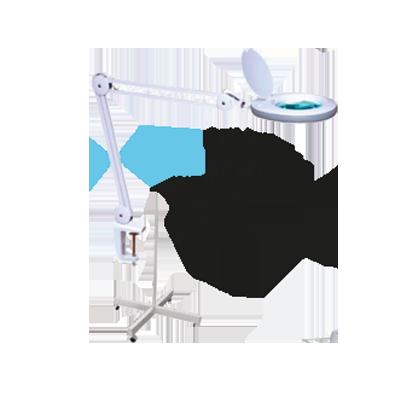 Lente 5 diottrie con lampada