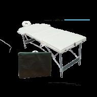 Lettino professionale struttura tubolare in alluminio ( 15kg )