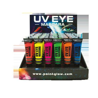 Mascara occhi neon uv expo 48pz
