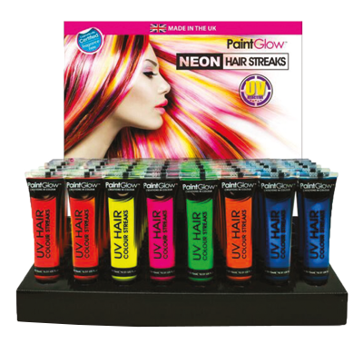 Mascara meches neon uv