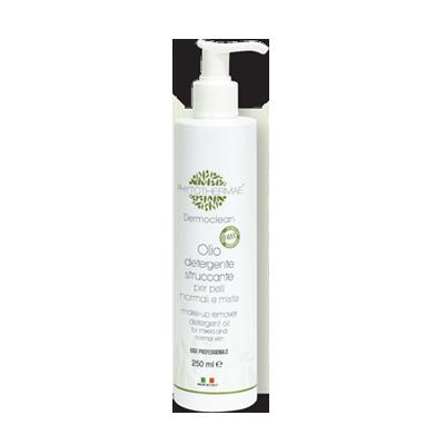 Olio detergente struccante per pelli normali e miste