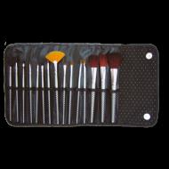 Set pennelli trucco 15pz