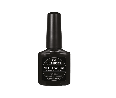 Smalto semipermanente semi-gel/ top coat