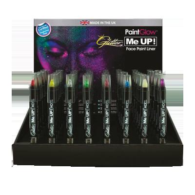 Stick glitter viso expo 48pz