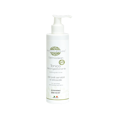 Tonico decongestionante per pelli sensibili e arrossate