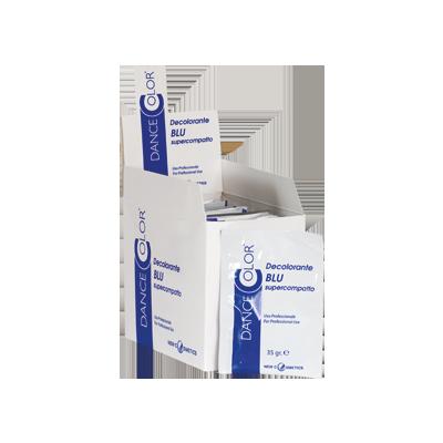 decolorante in polvere blu antigiallo bustine monodose 35gr